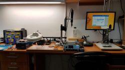 Mikroskop DIY do lutowania i inspekcji smd