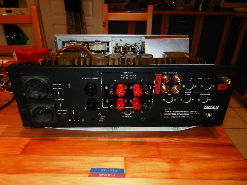 """WSH-205 + GS-424 """"Adam"""" - buczenie Phono"""