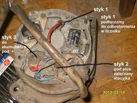 Jak podłaczyć alternator od Golfa II?