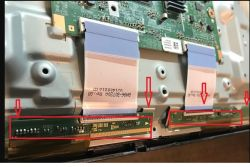 Samsung UE32H5000 - Paski na ekranie pionowe