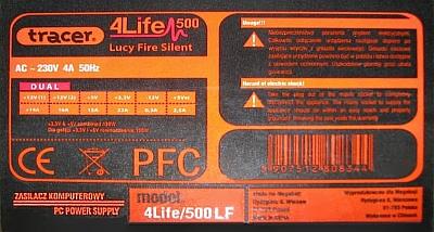 Tracer model: 4Life/500LF po wymianie element�w dalej brak stand-by?