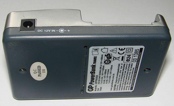 GP PowerBank travel GPB03GS - Zasilanie �adowarki z 12V instalacji samochodowej