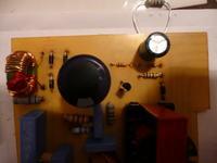Zasilacz impulsowy - 14,5V 0,4A robi zwarcie