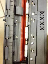 Konica Minolta Bizhub c253 błąd c2152 i wydruki z paskami