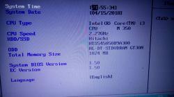 Toshiba Satellite A660-17W - Nie włącza się, czarny ekran.