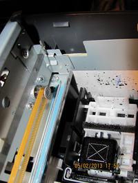 Awaria skanera Epson DX7450