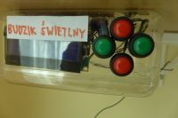 Budzik świetlny LED, ATmega8A