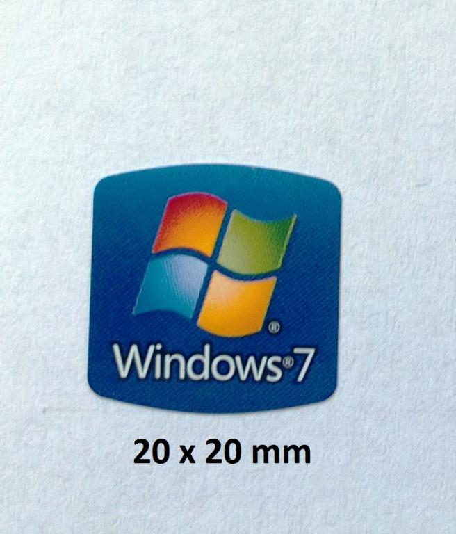 [Kupi�] Naklejki Intel C2D, Windows7 na laptopa - Warszawa
