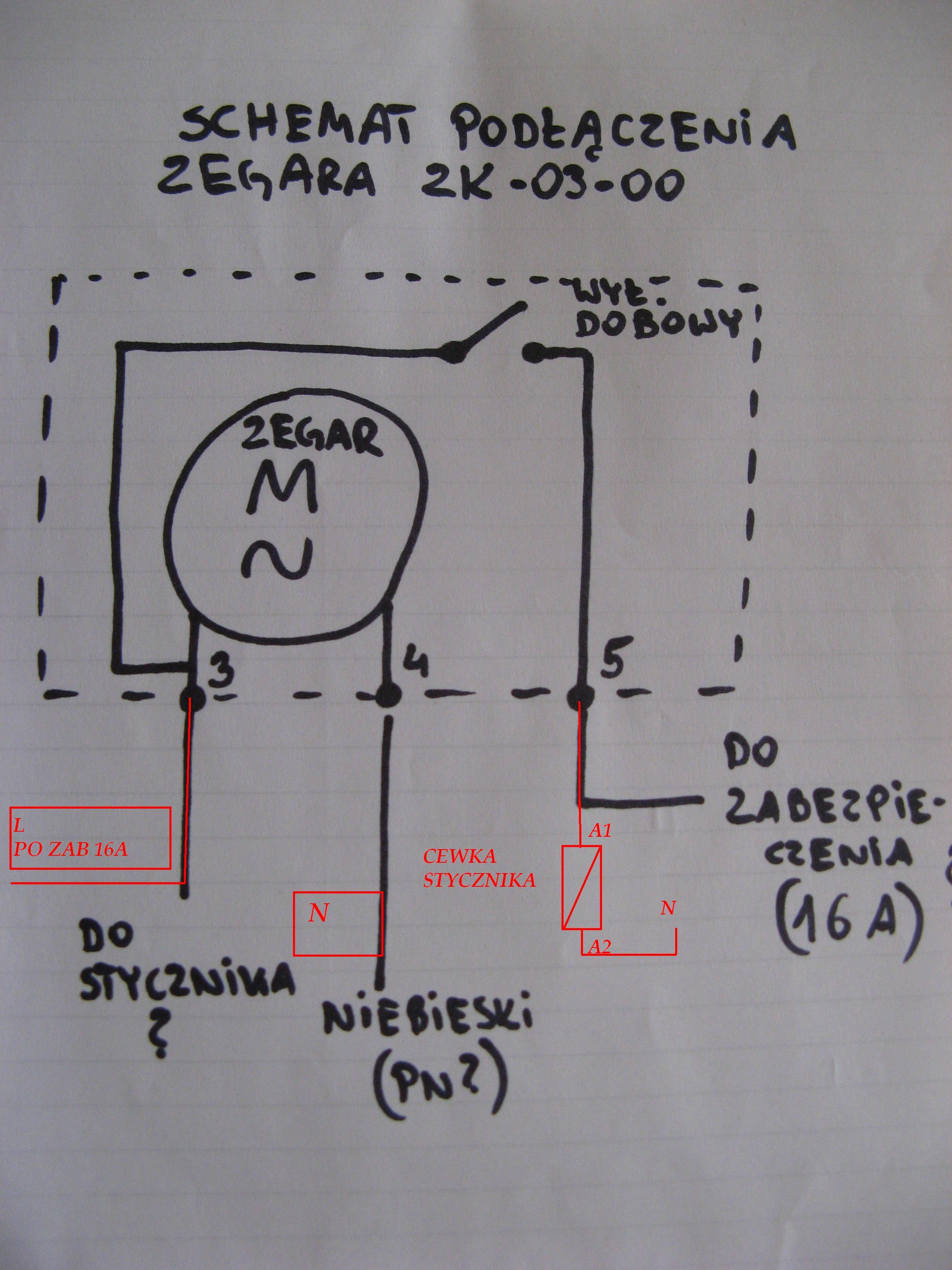 Zegar ZK 03 00 - na jaki wymieni� ?