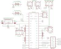 Op-Amp/Czujnik Ciśnienia - Czujnik Nais ADP1 + napięcie z op-amp