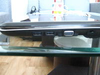 Połączenie TV z laptopem przez konwerter VGA/Euro.