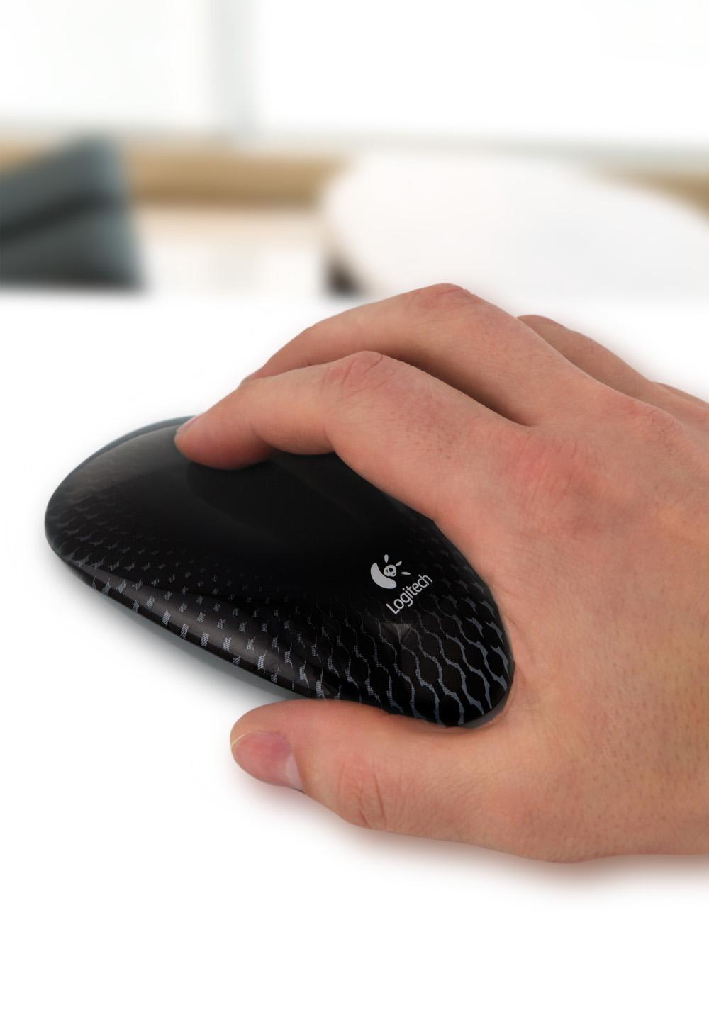 Logitech M600 - mysz komputerowa pozbawiona fizycznych przycisk�w?