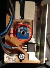 Odkurzacz Electrolux ZSC69FD2 - Regulator obrotów 2193995-10