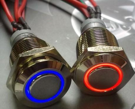 W��cznik chwilowy - Czy mog� pod p�yt� g��wn� podpi�� w��cznik monostabilny LED?