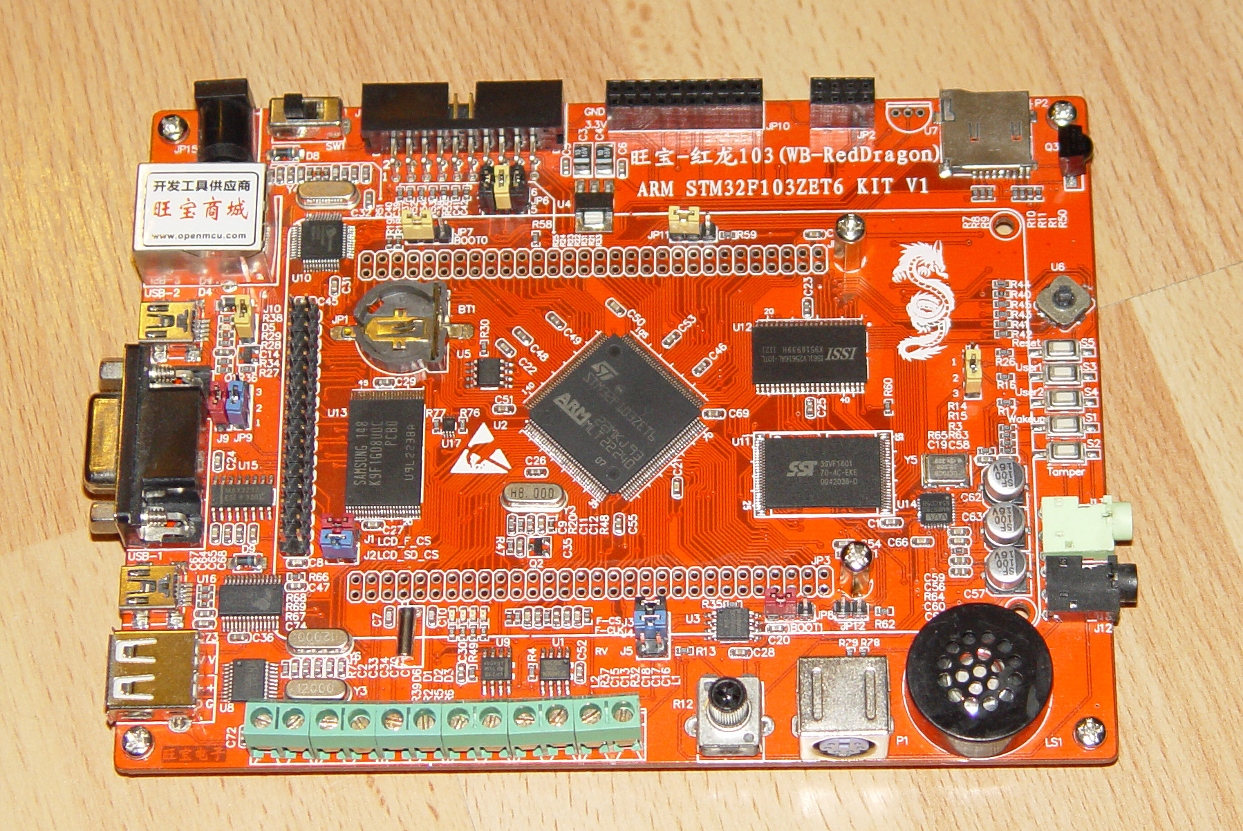 Red Dragon STM32 - spalony zasilacz/przetwornica