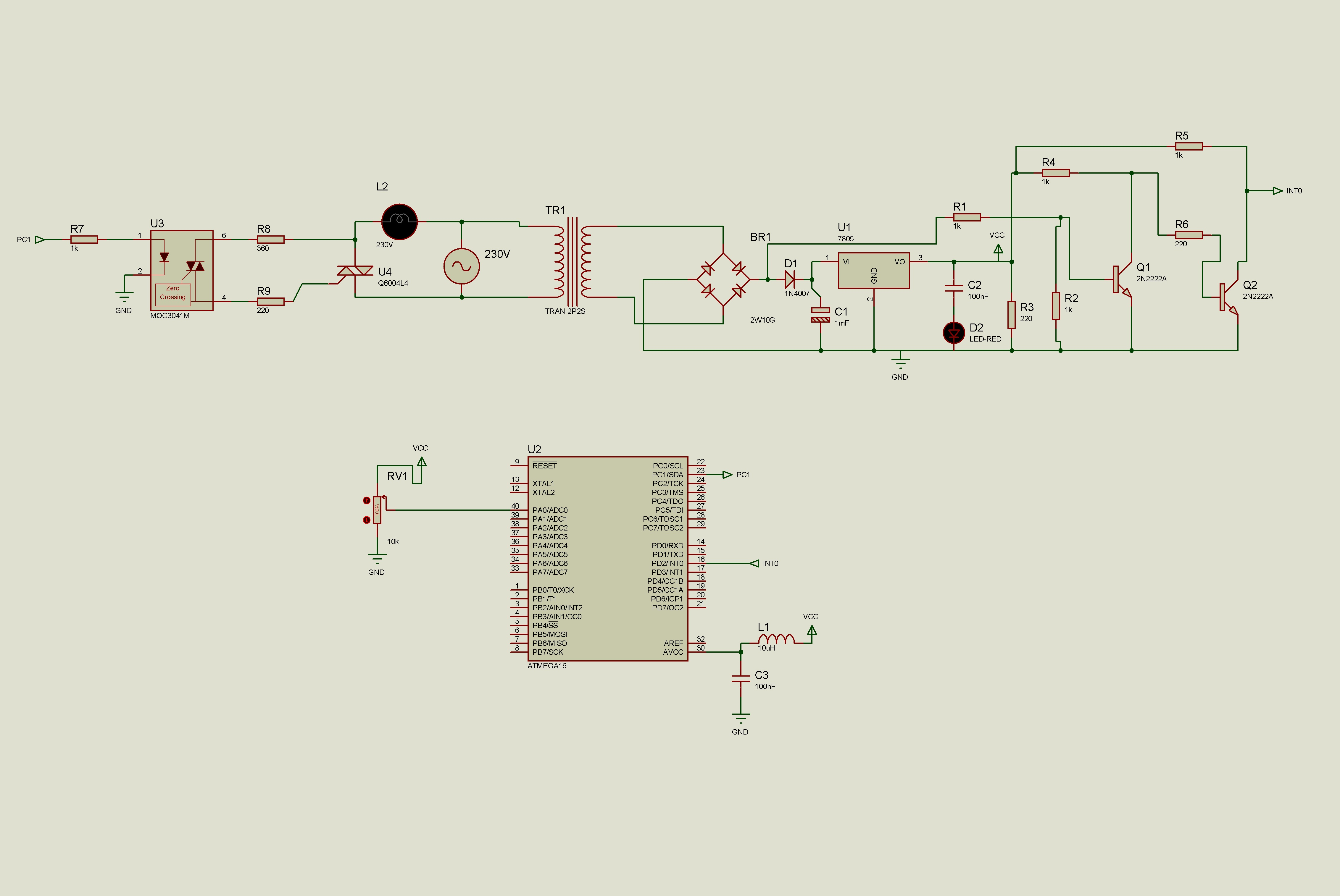 [Atmega16][C] Regulacja fazowa (�ciemniacz/regulator obrot�w)