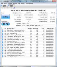 WD3200BPVT - Utracona partycja na dysku