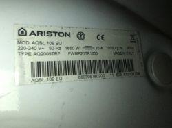 Pralka Ariston AQXD 129 EU - Poszukiwany. Wsad pamięci, plik BIN moduł dolny.