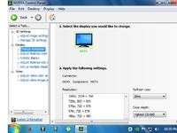 GF7300 GS TV out - Połączenie PC do CRT przez svideo - svideo obraz czarno biały
