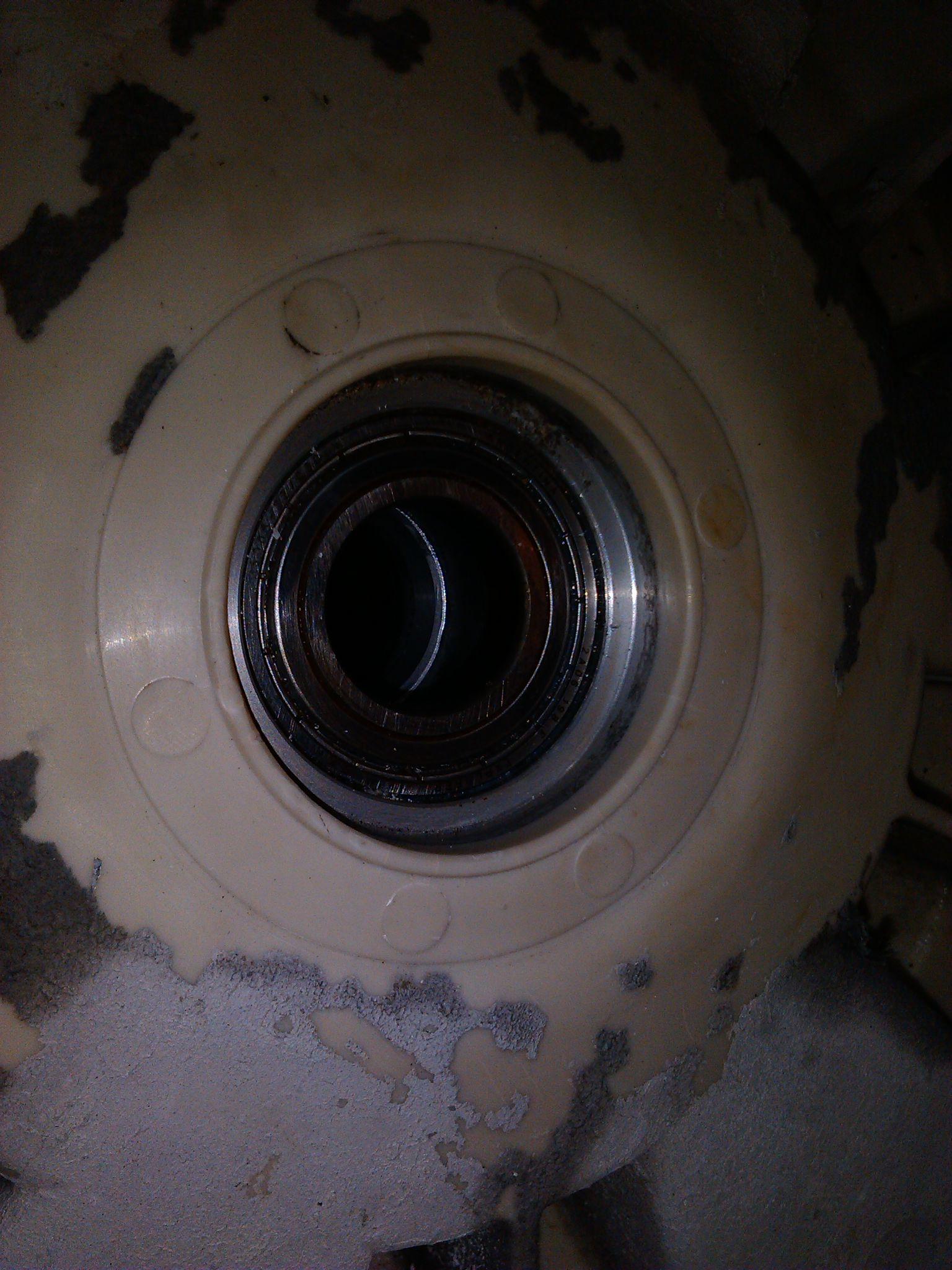 Whirlpool AWO/D 4320/P - Wymiana �o�ysk w zbiorniku zgrzewanym