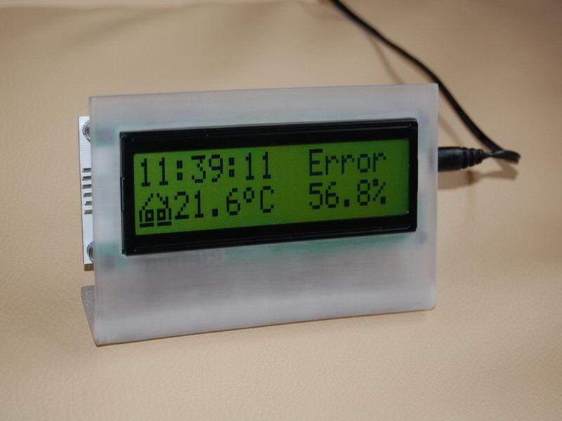 Zwyk�y zegar z temperatur�
