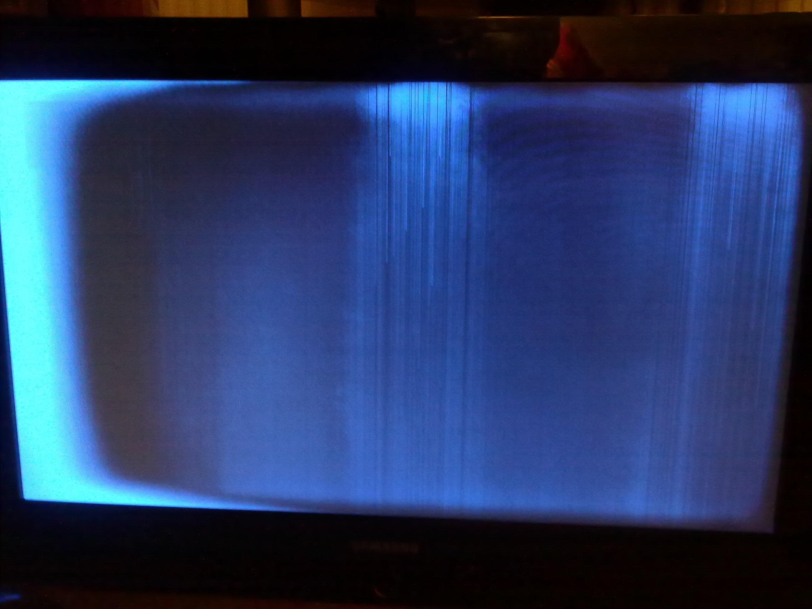 Samsung LE32S62B - zanika obraz, pojawiaj� si� pionowe pasy
