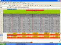 excel-Ewidencja czasu pracy-grafik-35 godzin