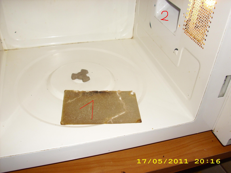Identyfikacja elementu kuchenki mikrofalowej
