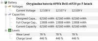 Wymiana ogniw w baterii Dell Latitude e6520