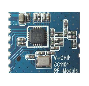 [Sprzedam] Moduły radiowe TI CC1101 433MHz 10dBm