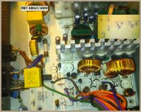 Corsair VS550 CP-9020097-EU przebicie na kondensatorze MKT 680nF/400V