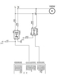 Atmega8, PC814, BT136, detektor zera-regulacja fazowa w�/wy�