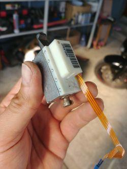 RENAULT GRAND SCENIC II phII - Wolne zaciąganie hamulca ręcznego, elektrycznego