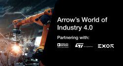 [1-2.10.2020, targi] Arrow zaprasza do poznania świata Przemysłu 4.0
