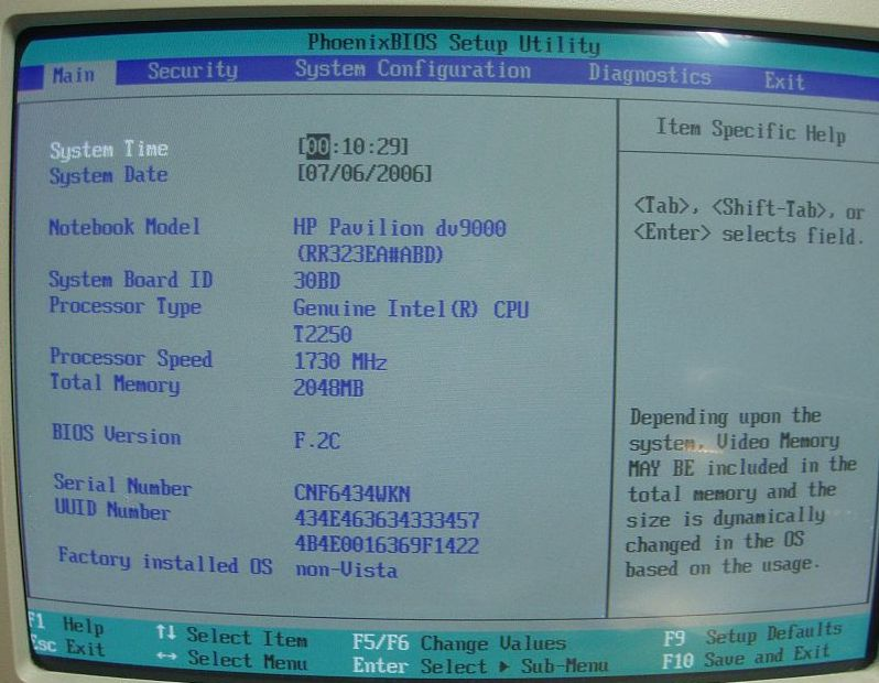HP Pavilon DV9000 - Uszkodzona grafika - wymiana p�yty g��wnej.