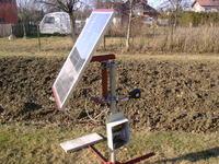 Bateria słoneczna,solar-track, prezentacja układu.