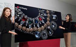 LG Display prezentuje pierwszy na świecie 88-calowy wyświetlacz OLED o rozdzielc