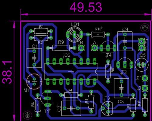 [Eagle] klaskacz AVT 721 nie wiem jak zrobic dalej... ??