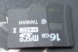 Złamana karta microSD - szansa odzysku danych