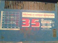 Prostownik czechos�owacki TYP: NB23 - Spalony transformator zasilaj�cy uk�ad.