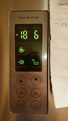 Lodówka LG GBB530NSCXE - mrozi, ale bardzo słabo chłodzi
