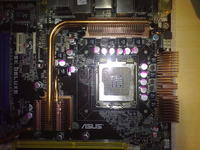 Asus P5K Deluxe- Chassis Intruded