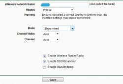 Funbox 1D01 a filtrowanie adresów MAC