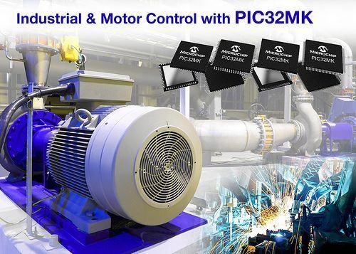 Nowe mikrokontrolery z rodziny PIC32 dedykowane do sterowania silnikami