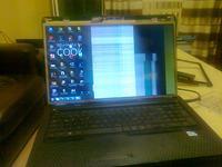 HP G72 - Skaczące paski na monitorze HP