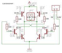 Mostek H, dobór odpowiednich tranzystorów do sterowania silnikiem dc