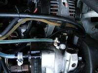 Renault Kangoo 1,5 dCi '02 Pecherzyki powietrza w przewodach paliwowych