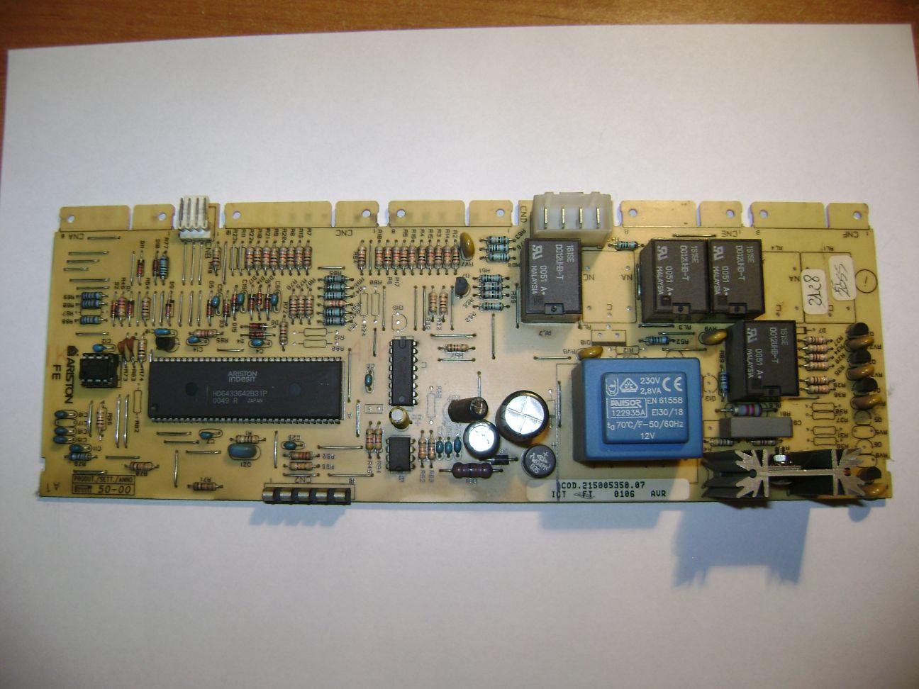 [Sprzedam] Elektronika(modu�) z pralki INDESIT W105TX