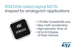 Nowe układy z rodziny STM32G4