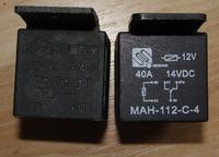 Przekaźnik 12V 40A schemat - podłączenie klaksonów